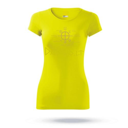 """Marškinėliai moteriški """"Baltų šventės 1"""""""