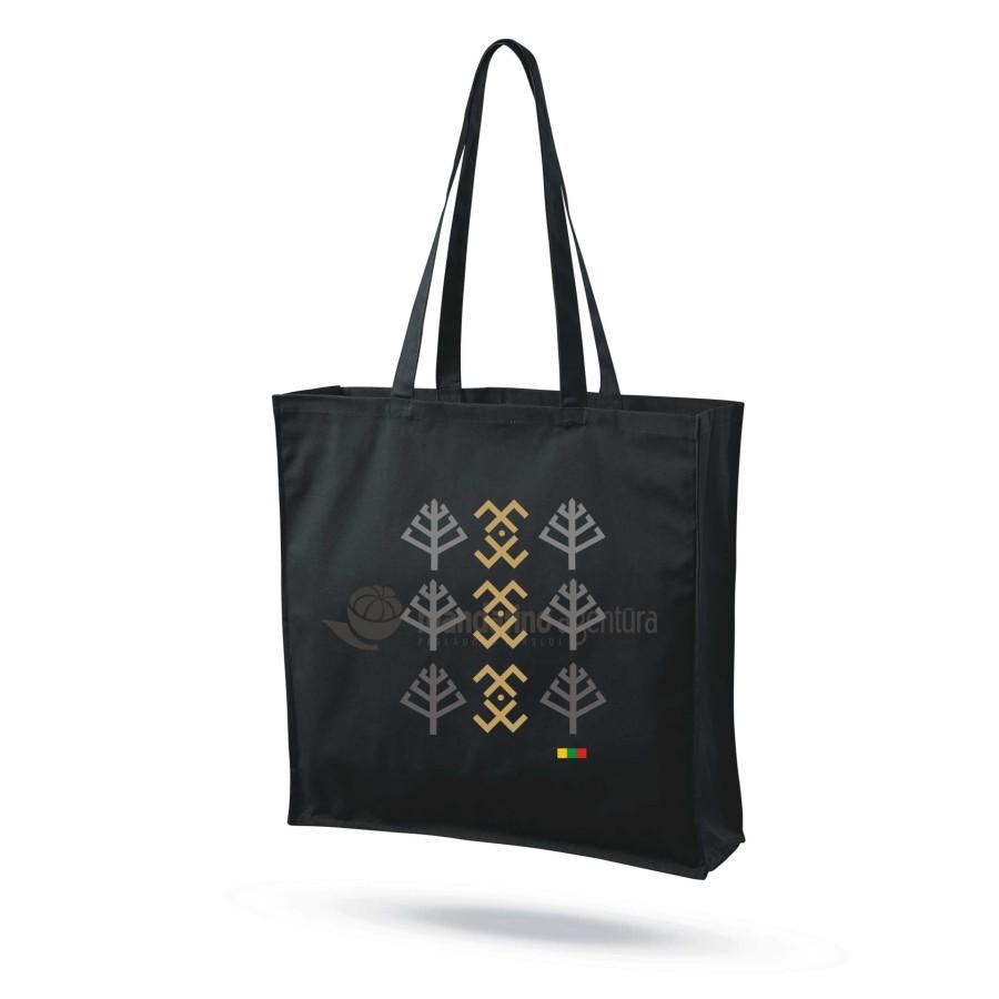 """Medvilninis maišelis su praplatėjimu """"Baltų ženklai 2"""""""